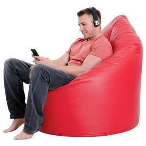 XXL Adult Bean Bag Chair Faux Leather was £69.99 now £44.99 @BeanBagBazaar + possible 10.1% topcashback