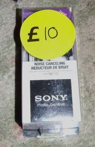 Sony MDR-NC13 Noise Cancelling  Headphones Tesco £10 Instore