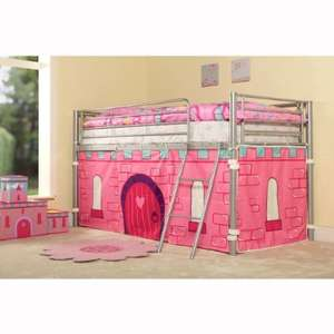 KIDS PRINCESS METAL MID SLEEPER GIRLS CABIN BUNK BED TENT INCLUDED £109.98 Delivered was £200 from Amazon (Sold by SonicOnline)