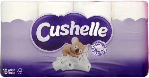 Cushelle 16 Toilet Rolls for £4.00 @ Roys Stores in Norfolk