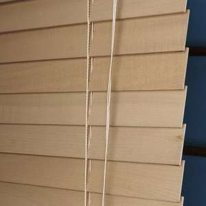 Wooden Wide Slat 50mm Venetian Blind 30% 0ff  £25.89 @ Dunelm Mill