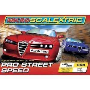 Micro Scalextric Pro Street Speed - Toys R Us, was £89.99 now £34.96