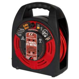Masterplug 25m Cable Handbag - £7.50 @ Sainsbury's