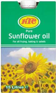 KTC Sunflower Oil 15 litres for £12 @ Asda
