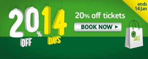 London Midland - Online 20% Discount 1-14 Jan (Travel By 14 Feb)
