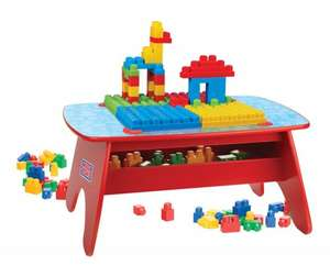 Mega Bloks First Builders (Wooden) Building Table - £26.85 delivered @ Amazon. RRP £99.99