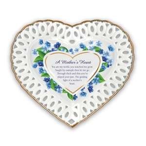 A Mothers Heart collectable plate. Compton & Woodhouse. Save £35. Free Delivery.