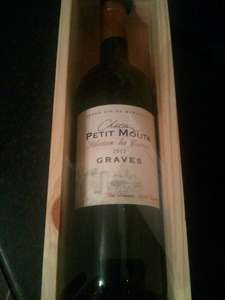 Château Petit Mouta 2012 Graves Blanc 75cl GIFT BOX ... £4 DOWN FROM £14 @ TESCO INSTORE