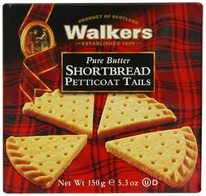 Walkers Shortbread Petticoat Tails 150 g (Pack of 24) - £20.65 delivered @ Amazon