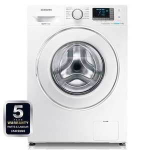 Top rated Samsung Ecobubble 8KG load Washing Machine WF80F5E0W2W Delivered @ Electrical Discount UK