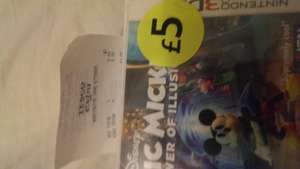 Epic Mickey Power of Illusion for 3DS £5 at Tesco instore