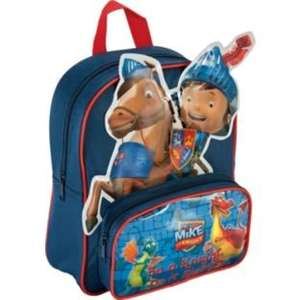 £2.99 - WAS £8.99 - Mike the Knight Navy Backpack @Argos