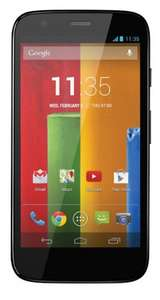 Tesco Mobile Motorola Moto G™ 16GB Black £129.00 @ Tesco Direct