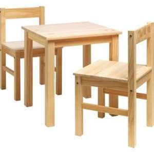 Childrens table and chairs £24.99 @argos