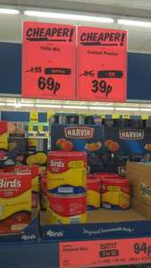 Bird's Custard Powder 300g £0.39 in Lidl