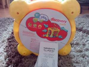 Grow and play discovery cube was £19.99 now £5.99 in-store Sainsburys