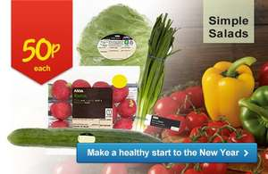 Asda New Year roll backs offers - products marked at 50p