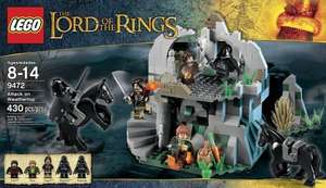 The Entertainer - mix of reductions (20% off, save £10, save £15) on brand Lego sets such as Lord of the rings, Castle set, Galaxy Squad and the Lone Ranger.