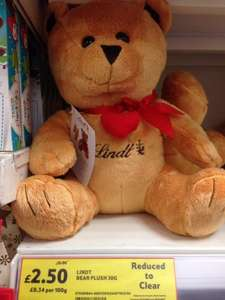 Lindt Lindor Plush Bear with Chocolates £2.50 @ Tesco