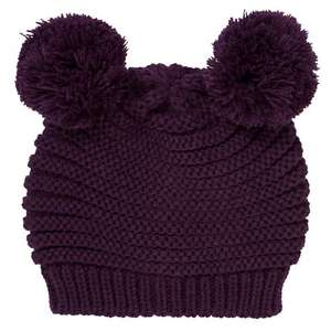 Novelty Pom Pom Beanie Hat was £15.00 NOW £4.50 @ John Lewis