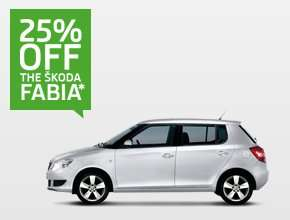ŠKODA Fabia Hatch SE 1.2 12V 69PS - 25% off - £8995 @ Skoda