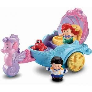 Fisher Price little people Ariel's coach - £10.12 instore @ Wilko
