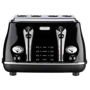Delonghi Icona 4 Slice Toaster in various Colours - John Lewis £40.00