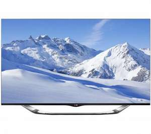 "Buy LG 55LA860W Smart 3D 55"" TV 