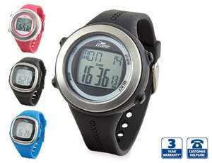 Aldi - Running Sports Watch with pedometer - £17.99. Available from Thur 2 Jan while stocks last.