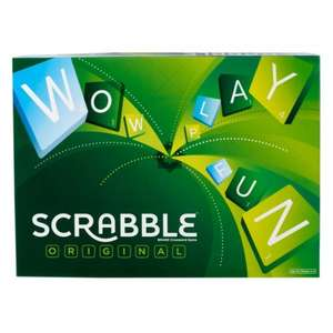 Scrabble board game instore £5.99@Sainsburys