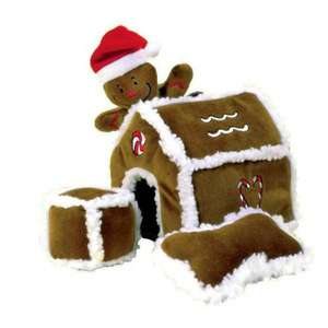 Kyjen Hide-A-Toy Gingerbread House Dog Toy £11.99 + £4.99 del *BOGOF* @petplanet