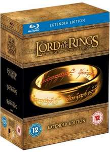 The Lord of the Rings Trilogy (Extended Edition) Blu-ray boxset £11.71 @amazon (seller dodax-online-uk)