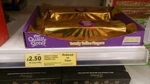Quality street totally toffee fingers 375g £2.50 @ Tesco