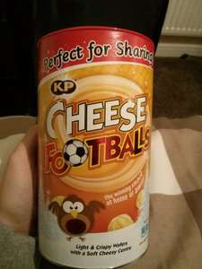 KP Cheese Footballs & Mini Cheddars £1 @ Tesco