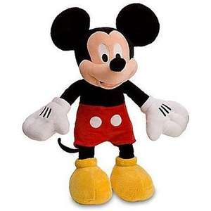 Mickey Mouse 17inch Plush £7.50 From £25.00 @ Debenhams