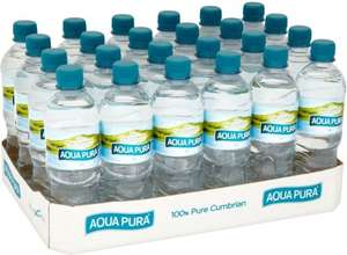 Aqua Pura mineral water 24 X 500ml £3.50 at Asda