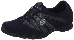 Skechers Womens Bikers Hot Ticket Low-Top Trainers Navy WAS ALL SIZES (now just 3 and 5) £20 @ Amazon (potentially £16 with 20% code)