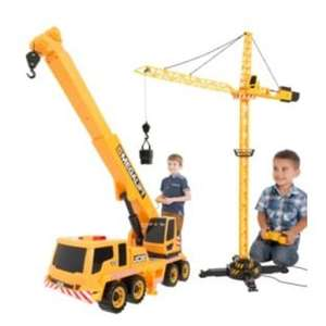 JCB Remote Controlled Megalift and Tower Crane £19.99 @ Argos (Collect)