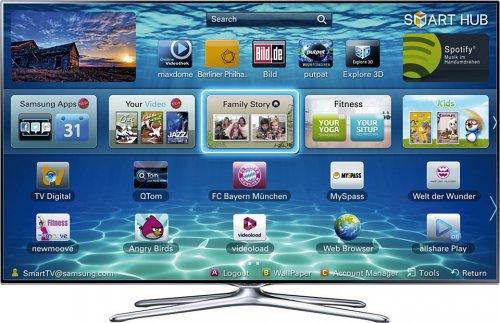 """Samsung 6 series UE46F6500 smart 3D TV 46"""" £659.95 @ 123AV"""