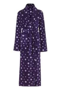 Fluffy Snowflake Robe. Now £25.00 @ Long tall Sally Was 55.00. Light weight, fluffy & very long.