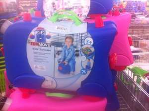 Kids Ride on suitcase age 3+ at lidl £14.99