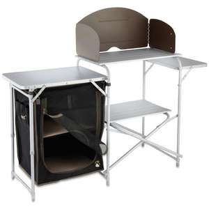 Gelert XL aluminium kitchen stand with cupboard £44.99 @ Leisure Outlet