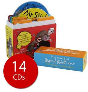 David Walliams CD Set - 14 CDs (AUDIO) £12.59 delivered @ The Book People