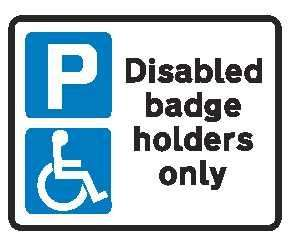 free dropped kerb for blue badge holders with Dudley council