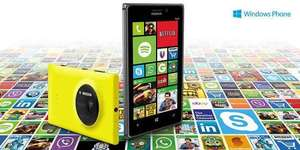 Buy Nokia Lumia 925, 1020, 625 or 1520 and claim £20 app voucher from Nokia