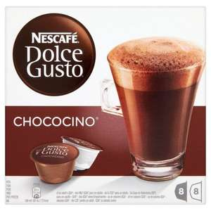 NESCAFÉ Dolce Gusto Chococino 16 Capsules, 8 servings (Pack of 3, Total 48 Capsules, 24 servings) £10 @Amazon