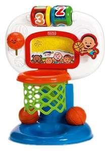 Tesco extra Irvine fisher price dunk n cheer basketball £8 instore