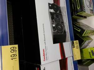 Goodmans GMN02BT Mini Hi-Fi System with CD Player and Bluetooth £69.99 @ b&m retails £100 +