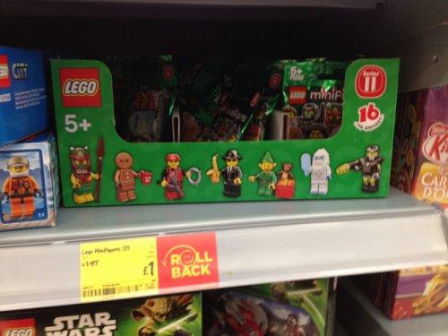Lego minifigures £1.00 @ asda