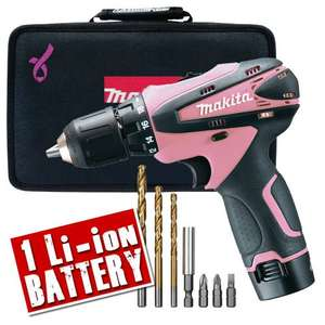 DF330DWXP Makita 10.8v PINK Cordless Lithium-ion Drill/Driver £59.99 plus £4.95 delivery at ITS